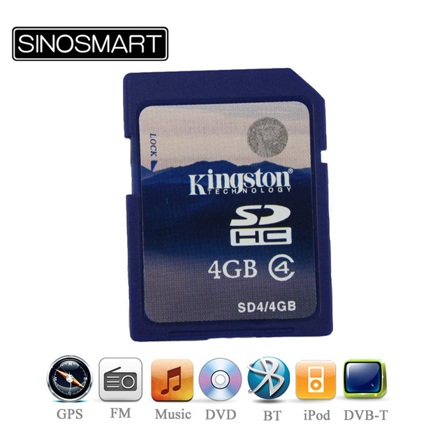 Supernova Sales Latest 3D map of South/North America/Europe/Asia/Australia in 4G branded card for Car DVD Player
