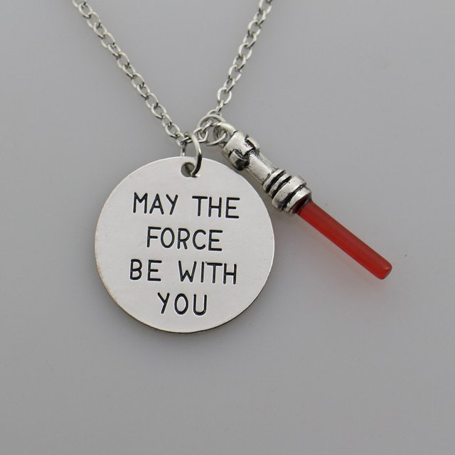 Star Wars Necklace – May The Force Be With You