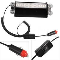 12 V 8 W LED Fire Auto auto Voertuig Deck Truck Dash Strobe Flash Waarschuwingslampje Amber Wit Emergency Ongeval Security Lamp Super