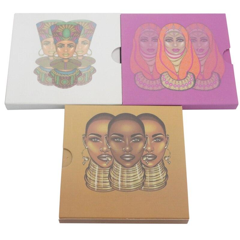 9 farben Make-Up Nubian Lidschatten Pallete Glitter Injektionen Gedrückt Glitter Lidschatten Shimmer Lidschatten-palette Maquiagem