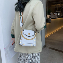 Bag for Women 2019 Fashion Leather Solid Handbags Mini Chains Bag Party Purse Phone Bags Women Crossbody Messenger Bags White цена 2017