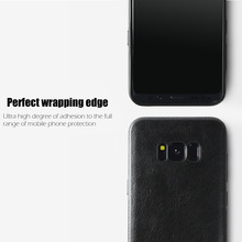 Case For Samsung Galaxy S8 Plus s 8 s8+ Case PU Leather Stitching Soft Cover For Samsung Galaxy S6 Edge S 6 S7 Edge S 7 Case