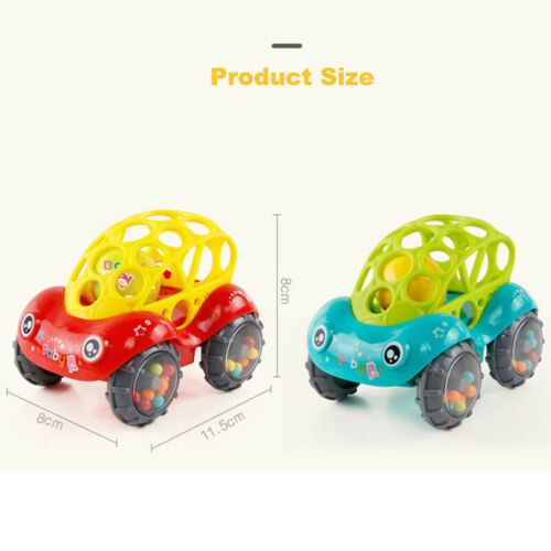 Image 2 - 2019 Brand 1 Piece Rattle and Roll Car, Assorted Colors O Ball Play Toy Kids Game Toddler Gift-in Diecasts & Toy Vehicles from Toys & Hobbies