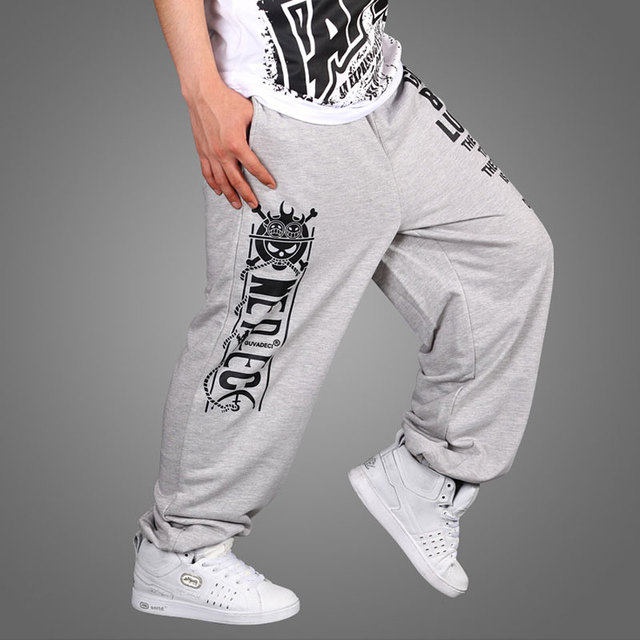 2016 Hot Sale  Hip Hop Pants Easy Street Dance Pants Men's Trousers Hip-Hop Clothing Loose Big Size Pants
