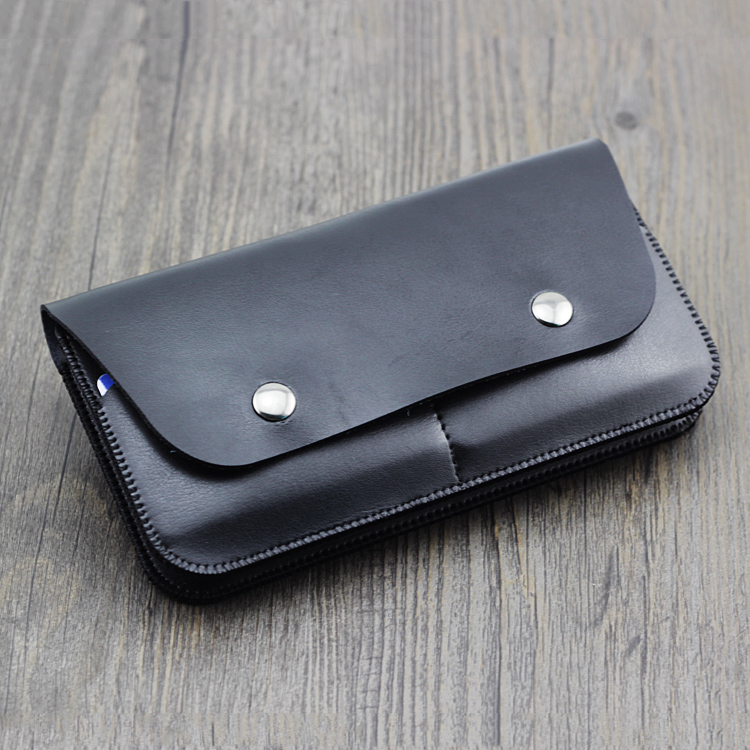 Two protective cover for Apple iphone7Plus 6s double sets of wallet -style leather case for iPhone 8 men and women cross section