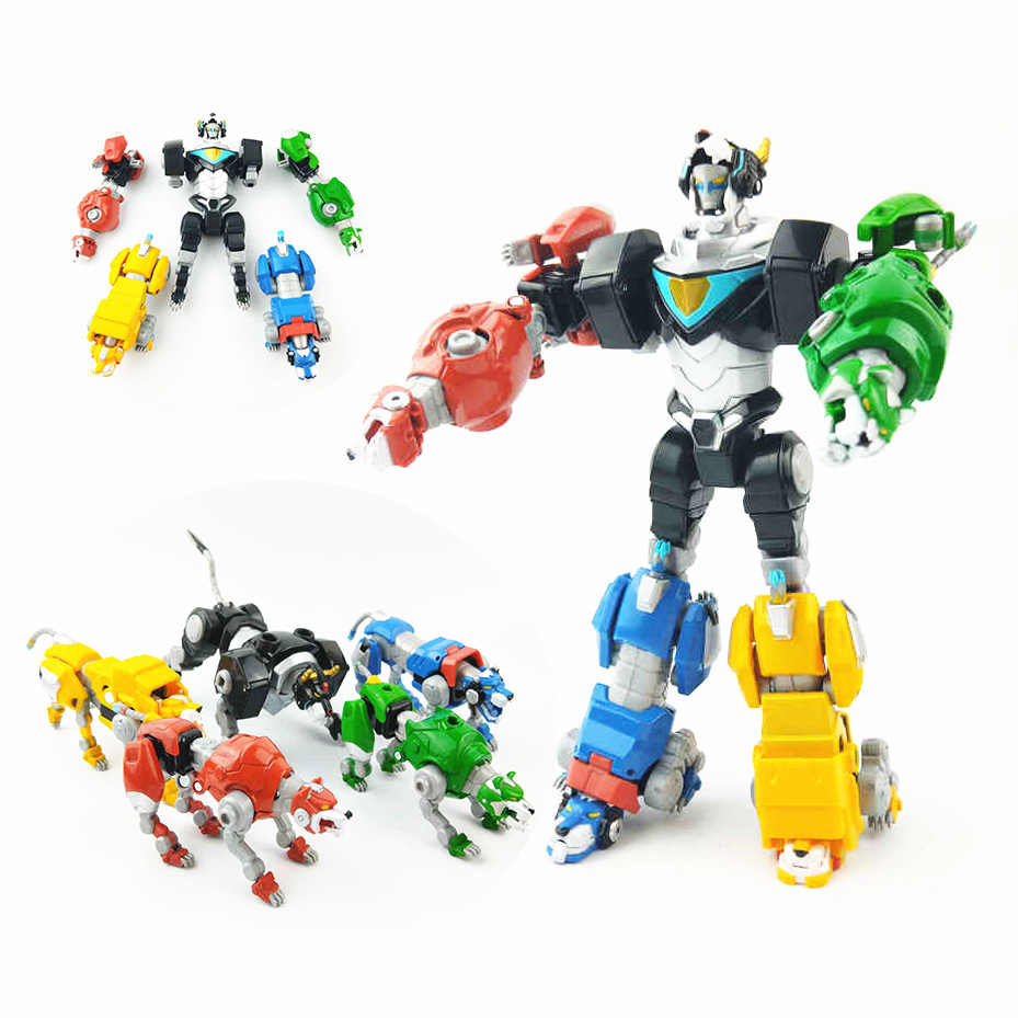 Transformation Robot 5 IN 1 Voltron Super Alloy Soul Beast King ...