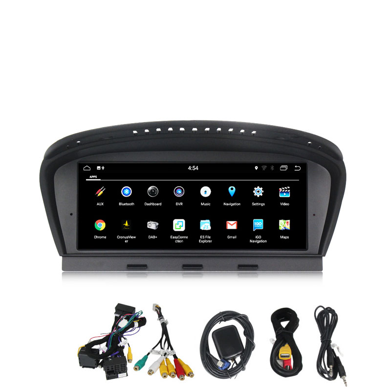 2 ГБ + 32 GB 8,8 Android 7,1 dvd плеер автомобиля для серии BMW 5 E60 E61 E62 E63 E90 iDrive gps Navi Wi Fi Bluetooth Радио RDS CCC CIC