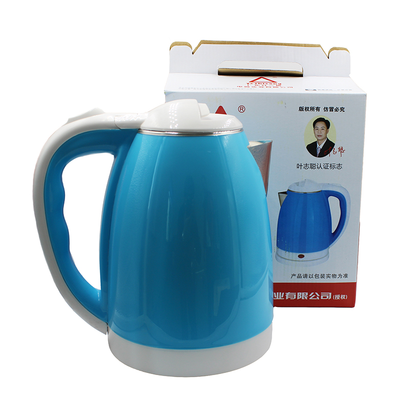 2018new electric kettle stainless steel 1500W anti-dry automatic power off function