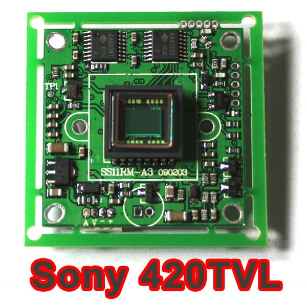 1/3 420TVL SONY CCD Color CCTV Camera Board PCB mainboard chips free shipping hot sell 1 3 sony ccd 405 2010 420tvl bullet camera module circuit board pal system