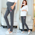 Maternity Pregnant women are baggy Leggings,Pregnant women in the spring and autumn loaded sports  pregnant women big yards