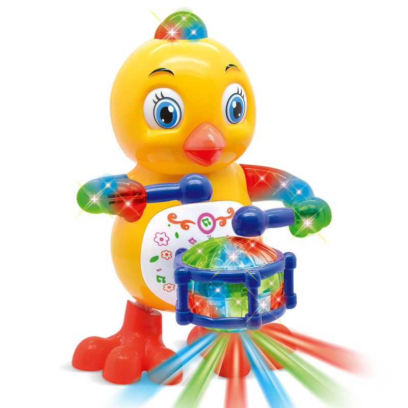 Baby Toys Drumming Chicken Funny Animal Singing Dancing Electric Chicken Pet Toys For Children Kids 1-3 Years
