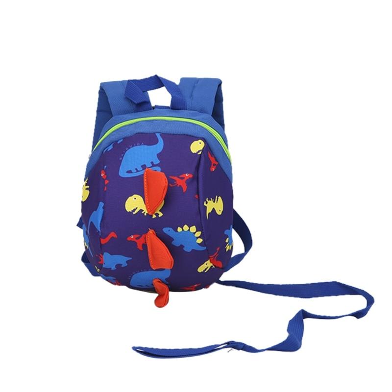 2019 New Cute Safety Fashion Animal Pattern Backpack Anti-lost Band Kids Children Kindergarten School Bags