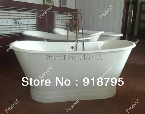 Free shipping luxury bathtub use for indoor cast iron tubs with shirting
