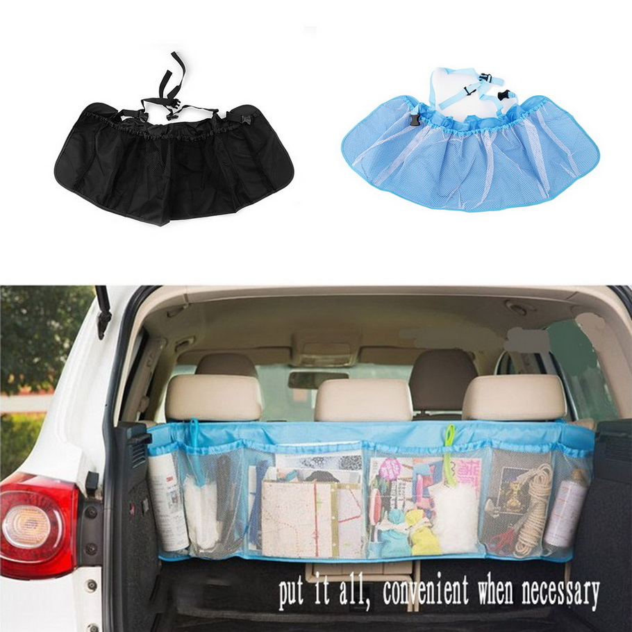 Car Trunk Organizer Seat Cover Toys DVD Storage Container Bags Automobiles pouch Auto Styling Accessories hot selling#