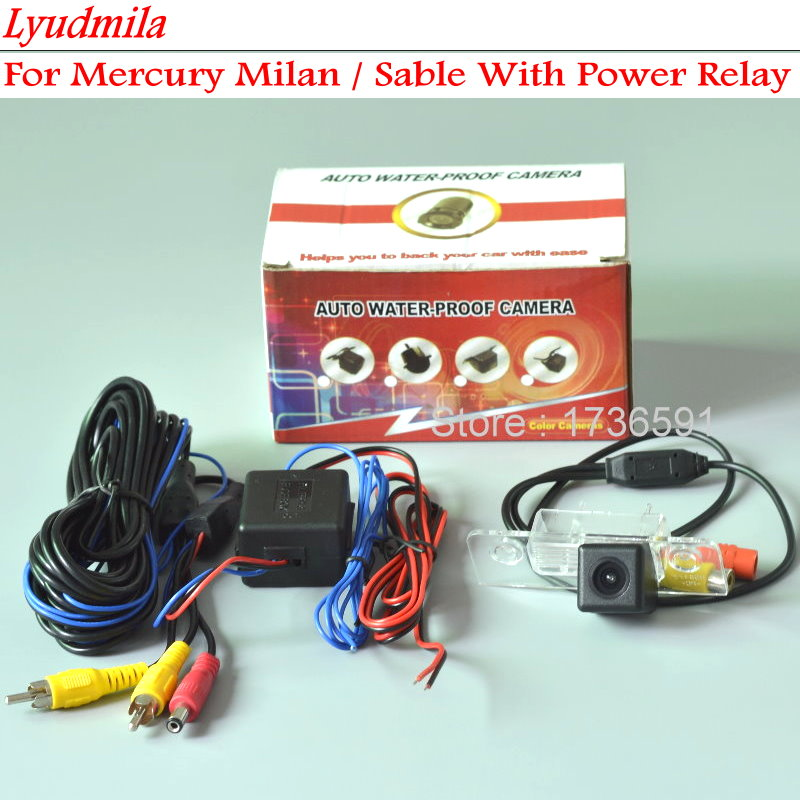 Lyudmila Power Relay For Mercury Milan / Sable / Car Rear View Camera / HD CCD NIGHT VISION / Back up Reverse Parking Camera