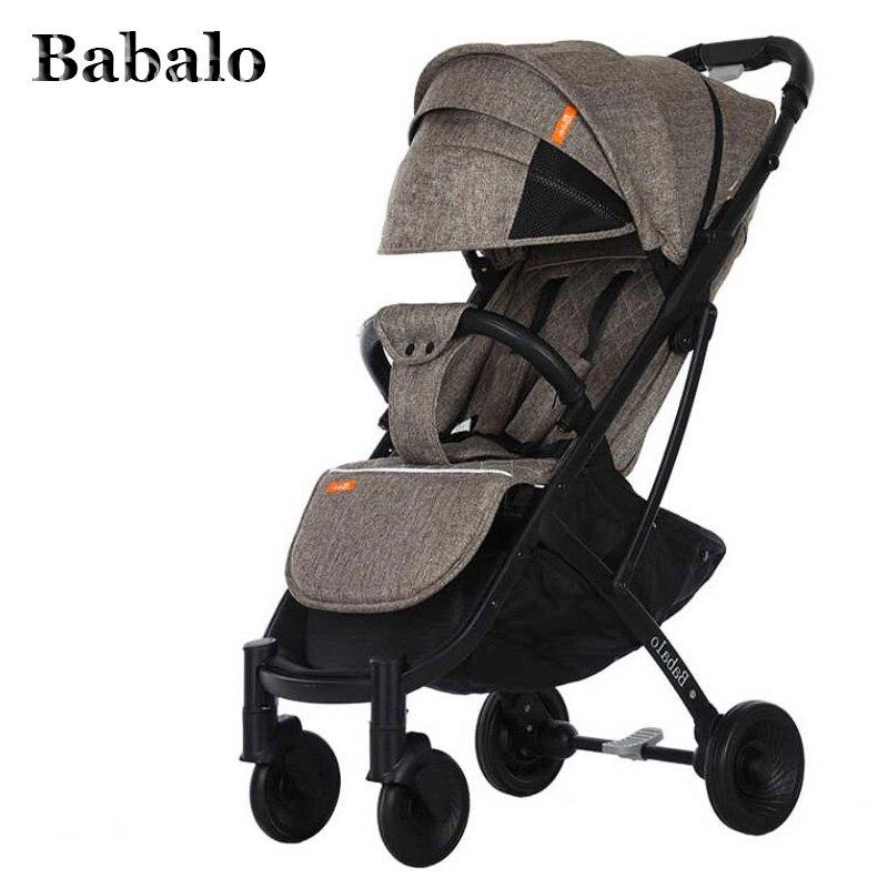 Babalo YOYA PLUS 3 bébé poussette livraison livraison ultra lumière pliage peut s'asseoir ou de s'allonger haute paysage approprié 4 saisons forte demande