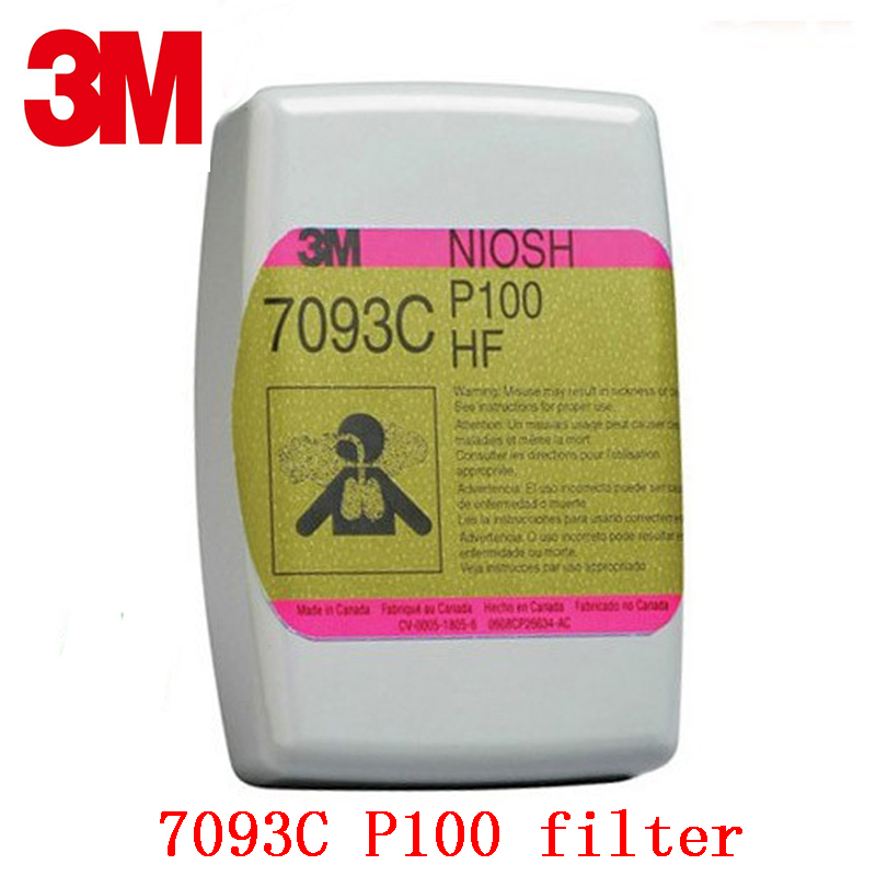 3M 3M 7093C P100 gas mask filter Genuine security 3M filter against Organic steam Acid gas particulates Mask filter 3m 2096cn p100 respirator mask filter genuine security 3m filter cotton against acid gas dust particulates welding dust filter