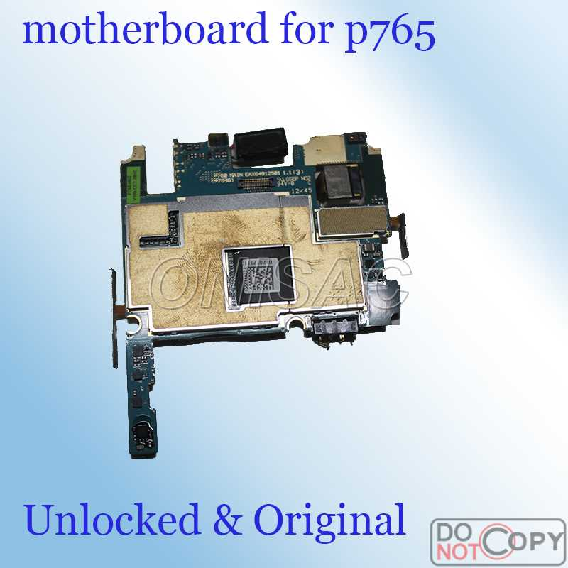 Raofeng use motherboard For lg P765 Mainboard test by one Unlocked well worked