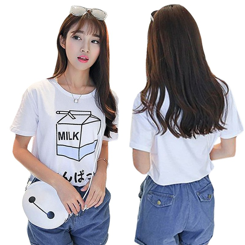 HTB1ZBtLNXXXXXXwXVXXq6xXFXXXr - Summer Fashion Milk Box T Shirts