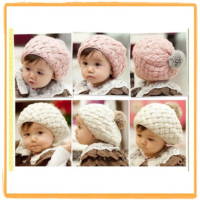 Wholesale Free Shipping Hot Selling 5 Pieces/Lot New Fashion High Quality Design Baby Hat Santa/christmas/ infant cap /Berets
