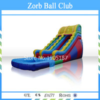 Free Shipping Inflatable Water Slides With Pool For Party And Events,Cheap Inflatable Slide With Prices