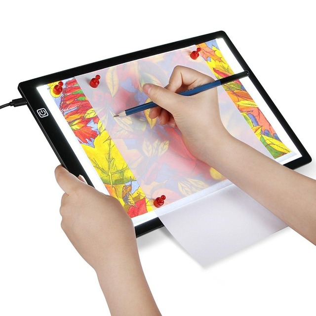 Led Lighted Magnetic Drawing Board Ultra A4 Drawing Table Tablet