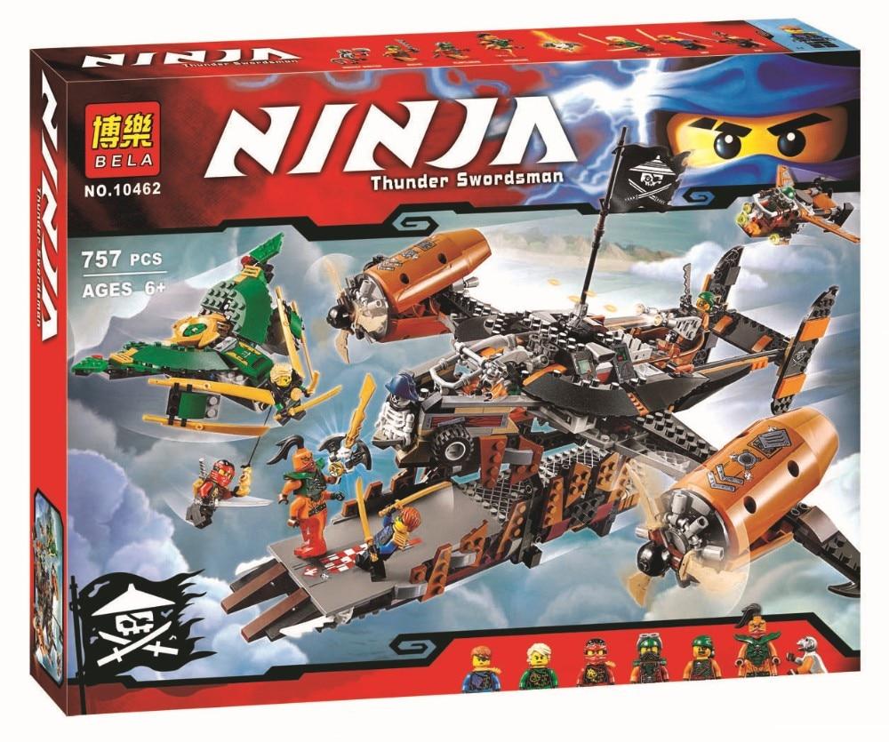 ФОТО Free Shipping Bela 10462 Ninja Thunder Swordsman Spinjitzu Masters Bricks  Building Block e Toys Best Toys