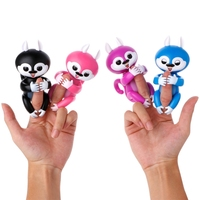 Tech Interactive Baby Finger Tip Squirrel Electronic Touch Motion Kids Pet Toy M15