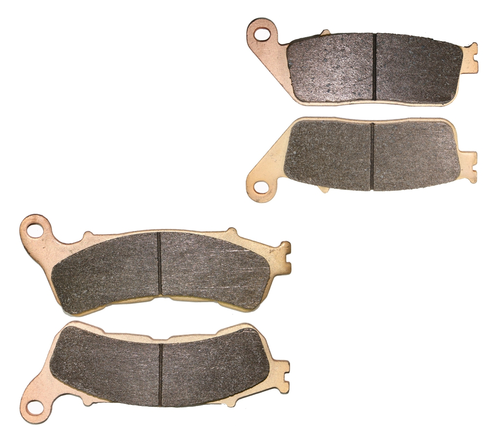 Automobiles & Motorcycles Brake Shoe Pads Set For Honda Sw-t600 Swt600 Sw-t Swt 600 Fjs 600 Ab Abs Model 2011 2012 2013 2014 2015 Available In Various Designs And Specifications For Your Selection