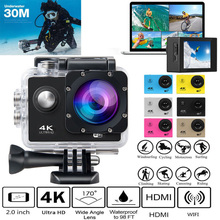 Ultra 4K Full HD 1080P Waterproof DVR Camera WiFi Cam DV Action Camcorder