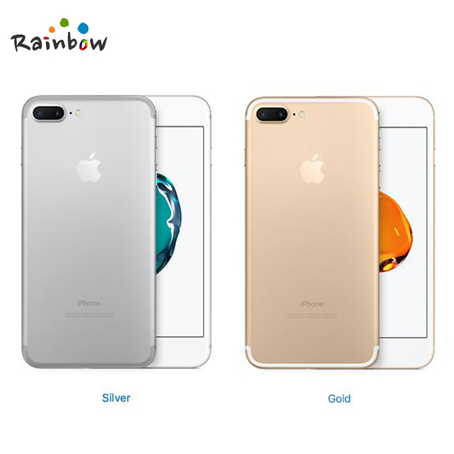 """Original Apple iPhone 7 Plus Factory Unlocked Mobile Phone 12MP Two Camera Wide-Angle 4G LTE 5.5"""" Quad Core A10 3G RAM 128G ROM 5"""