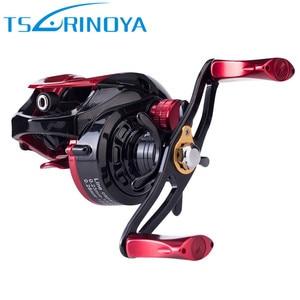 Image 2 - TSURINOYA XF50 Baitcasting Fishing Reels R/L 6.6:1 Magnet Brake System Light Aluminum Alloy Spool Moulinet Peche Casting Reel