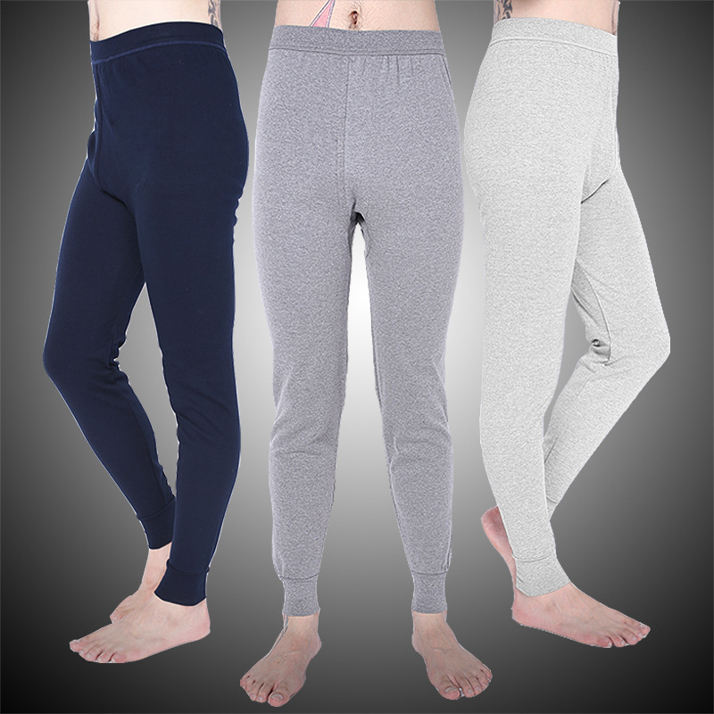 2016 winter Warm Men cotton leggings Tight Men Long Johns Plus Size Warm Underwear Man thermal