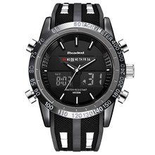 Readeel 2019 Brand Men Watch LED Luxury Sports Watches Digital Military Mens Quartz Wristwatches Relogio Masculino buso militar