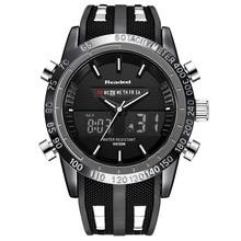 Readeel 2019 ブランド男性高級スポーツ腕時計デジタル軍事メンズクォーツ腕時計レロジオ Masculino buso militar