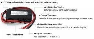 Image 3 - battery equalizer battery balancer  for 4pcs 12V battery connected in series for 48V battery system solar system