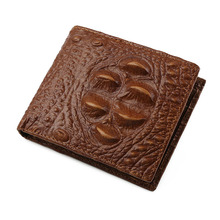 Genuine Leather Mens Wallet Man Cowhide Cover Coin Purse Mul