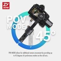 מצלמה קנון Zhiyun קריין פלוס 3 ציר כף יד gimbal מייצב 2.5kg Payload עבור סוני פנסוניק קנון ניקון Dsrls מצלמה ללא סוללות (3)