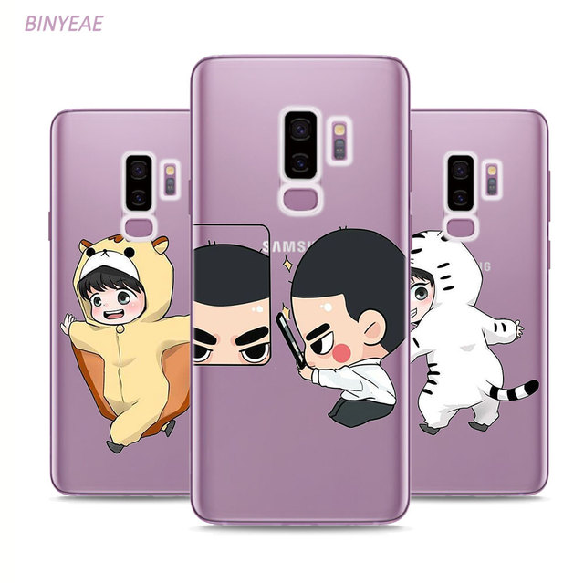 new styles 74b95 af4c0 US $2.84 |BINYEAE Exo kpop Lucky one Style Clear Soft TPU Phone Cases For  Samsung Galaxy S9 S8 Plus S7 S6 S5 S4 Mini Edge-in Fitted Cases from ...