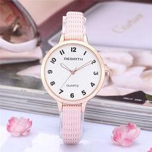 New girls model l re009 uxury vogue informal clock feminine fashionable enterprise girls basic bracelet wrist quartz watch reward