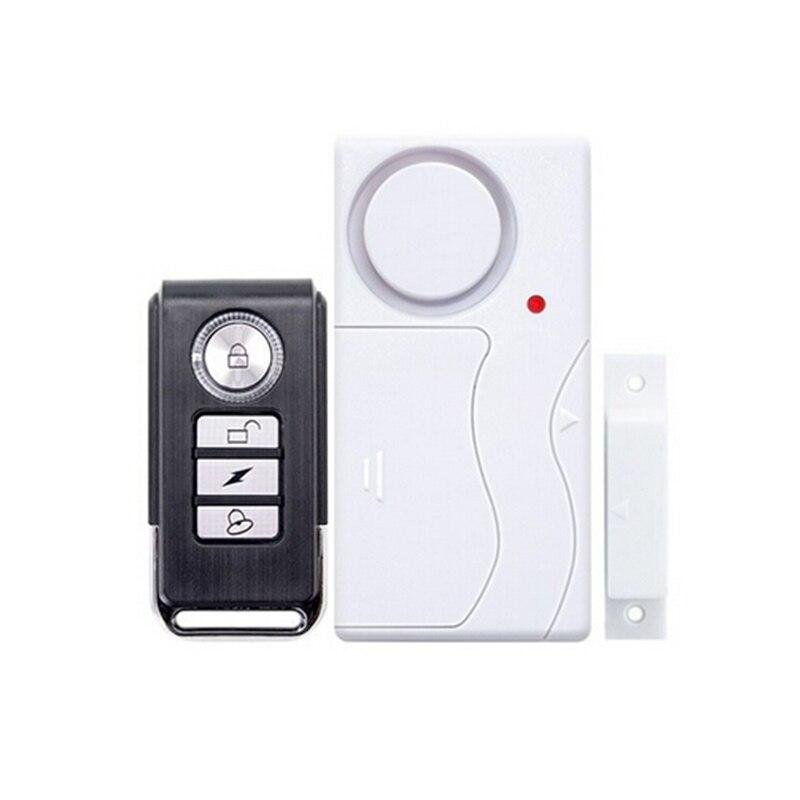 Saful Wireless Home Tür Fenster Alarm System Sicherheit Sicherheit Magnetische Sensor Fernbedienung alarm system