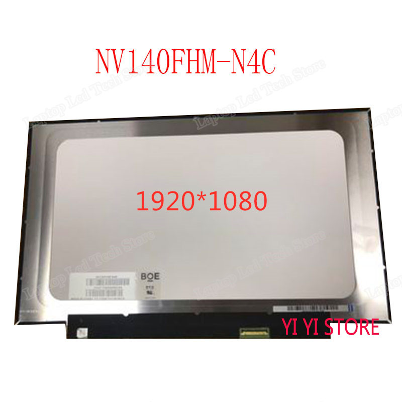 <font><b>14</b></font> <font><b>INCH</b></font> Laptop <font><b>LCD</b></font> LED Screen 1920*1080 <font><b>30</b></font> <font><b>PIN</b></font> IPS NV140FHM-N4C NV140FHM N4C image