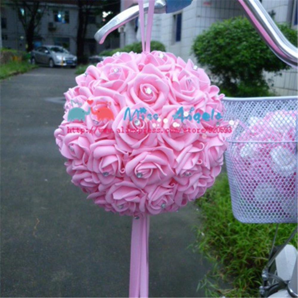 Free Shipping Pe Foam Rose Flower Handmade Diy Wedding Home