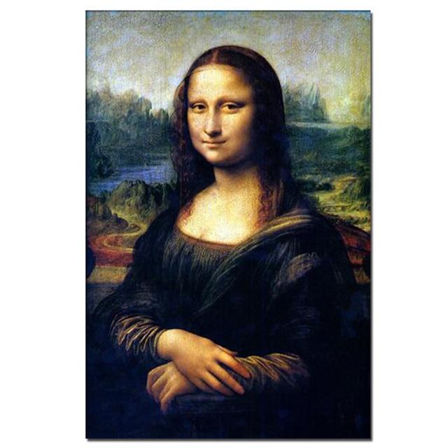 Spray Painting The Mona Lisa
