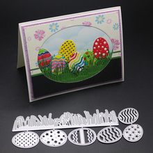 BM egg Metal Cutting Dies Stencil for DIY Scrapbooking Album Embossing Paper Cards