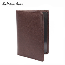 Passport Cover Leather Passport Holder Men Travel Wallet Credit Card Holder Cover For Documents Case-- BIH014PM05