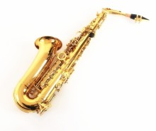 Free shipping Salmer 54 E alto saxophone& gold alto saxophone sax alto And Send + metal flute mouth