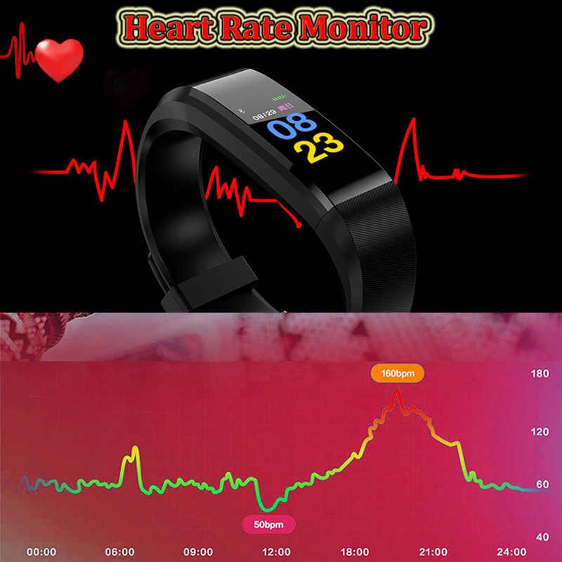 ספורט צמיד חכם שעון ילדים שעונים לילדים עבור בנות בני ילד צמיד שעון חכם להקת כושר Tracker Smartwatch שעה