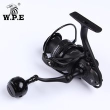 W.P.E Full Steel Spool Spinning Reel Fishing GD2000/3000/4000/5000 Saltwater Lengthy Forged Carbon Fiber Deal with  Fishing Carp Reel