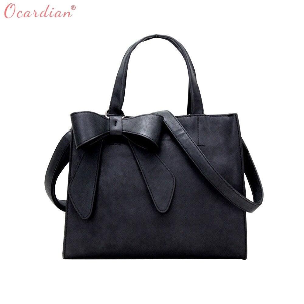 Ocardian 2017 Лидер продаж Для женщин PU кожаная сумка мешок высокого класса Сумки мастер дизайнер челнока 171013